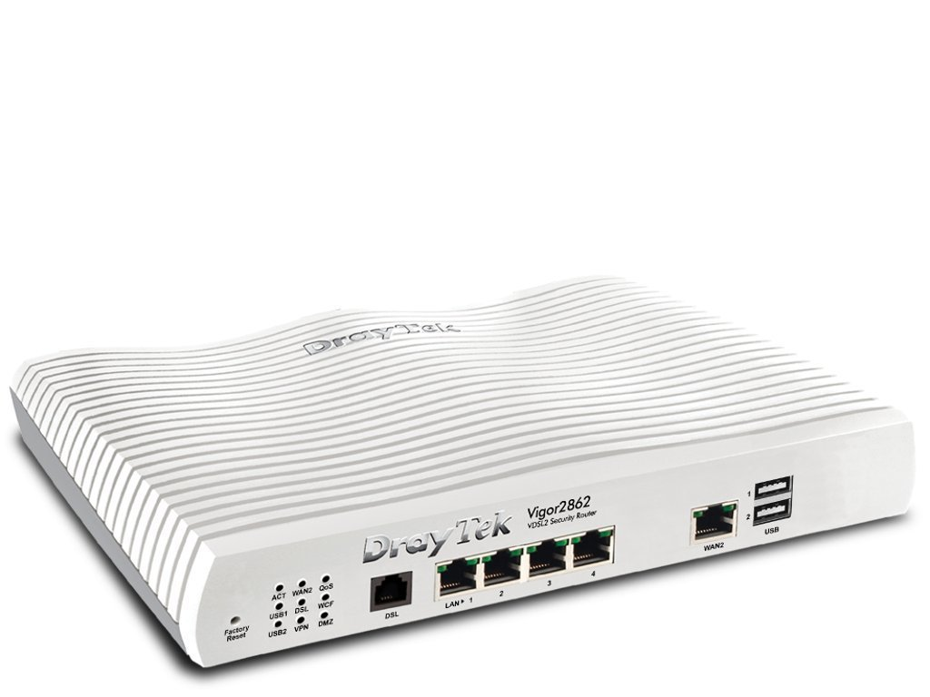 Signal blocker Knox | Draytek Vigor 2862 Router